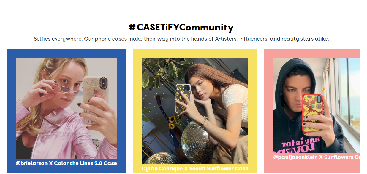 casetify社區精彩享不停