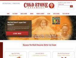 Cold Stone Creamery 優惠碼