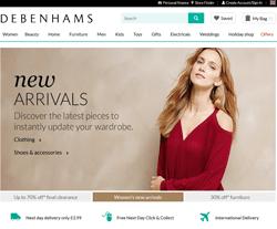 Debenhams 優惠碼